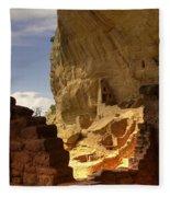 Cliff Dwelling Fleece Blanket