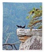 Cliff Hanging Fleece Blanket