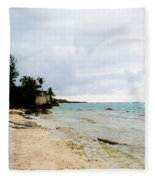 Cliff House 2 Fleece Blanket