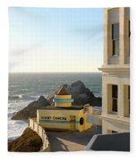 Cliff House Giant Camera Fleece Blanket