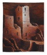 Cliff Palace Fleece Blanket