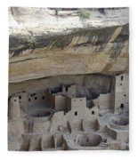 Cliff Palace Overview Fleece Blanket