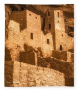 Cliff Palace Townhomes Fleece Blanket