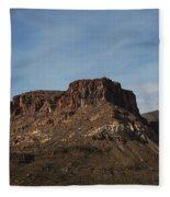 Cliffs Above Apache Lake Fleece Blanket