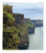 Cliffs Of Moher 7266 Fleece Blanket