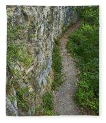 Cliffside Path Fleece Blanket