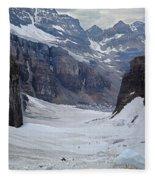 T-803501-b-climbers In The Death Trap Fleece Blanket