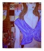 Clin D'oeil Fleece Blanket