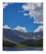 Clinton Gulch Summer Fleece Blanket