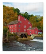 Clinton Mill II  Fleece Blanket