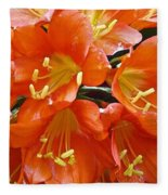 Music Please Clivia Fleece Blanket