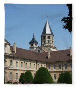 Cloister Cluny Garden View Fleece Blanket