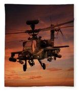 Close Air Support  Fleece Blanket