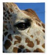 The Giraffe's Eye Fleece Blanket