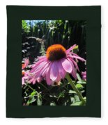 Closeup Fleece Blanket