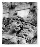 Closeup View Of The Original Baroque Sculpture Fleece Blanket
