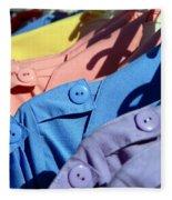 Clothes Street Sale Fleece Blanket