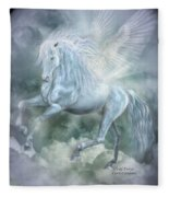 Cloud Dancer Fleece Blanket