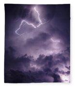 Cloud Lightning Fleece Blanket