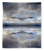 Cloud Mirror Fleece Blanket