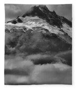 Cloud Smothered Peaks Fleece Blanket