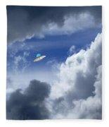 Cloud Surfing Fleece Blanket