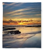 Cloud Trails Fleece Blanket