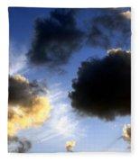 Clouds 5 Fleece Blanket