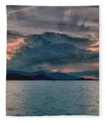 Clouds Explosion Fleece Blanket