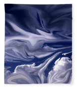 Clouds In Chaos Fleece Blanket