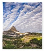 Clouds In Glacier Fleece Blanket