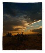 Clouds In New Mexico Fleece Blanket