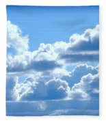 Clouds Of Glory Fleece Blanket