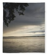 Clouds Over Seneca Lake Fleece Blanket