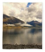Clouds Over Wakatipu #1 Fleece Blanket