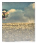 Clouds Within Clouds Fleece Blanket