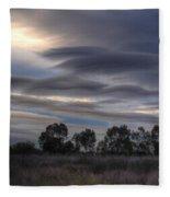 Cloudy Day 4 Fleece Blanket