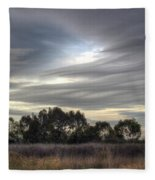 Cloudy Day 5 Fleece Blanket