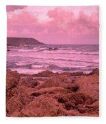 Cloudy Sea Fleece Blanket