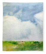 Cloudy Summerday Fleece Blanket