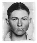 Clyde Champion Barrow  1909 - 1934 Fleece Blanket