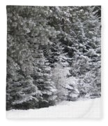 Coal Miner's Trail Fleece Blanket