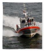 Coast Guard Fleece Blanket