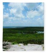Coastal Aransas Nwr Fleece Blanket