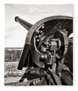 Coastal Artillery Fleece Blanket
