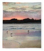 Coastal Beauty Fleece Blanket