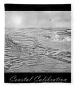 Coastal Calibration Fleece Blanket