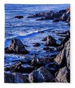 Coastal Cliffs Fleece Blanket