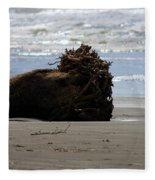 Coastal Driftwood Fleece Blanket