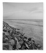 Coastal Lines Fleece Blanket